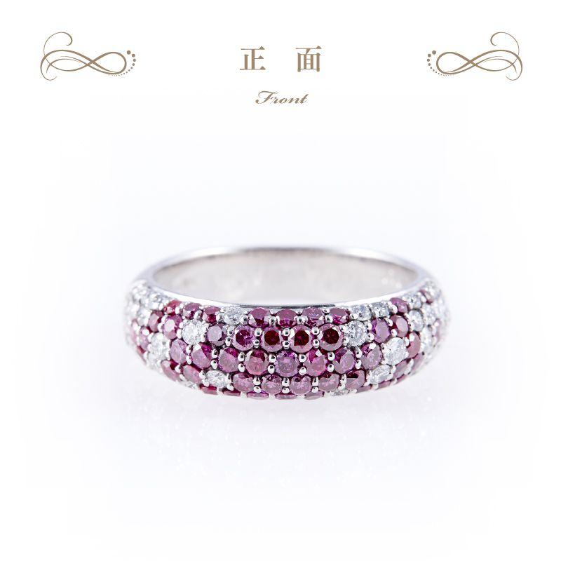ブルー&パープルダイヤモンド